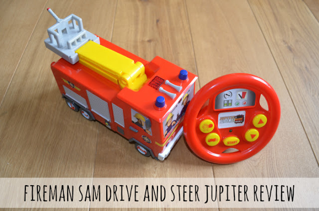 Review // Fireman Sam Drive And Steer Jupiter