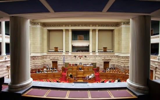 Θυελλώδης η συνεδρίαση της Βουλής- Αποχώρησε η ΝΔ – Σύγκρουση της Κωνσταντοπούλου με Σαμαρά