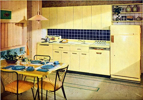 Vintage Kitchen Colors