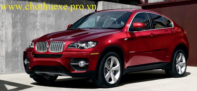 Cho thuê xe 4 chỗ BMW X6 hạng sang