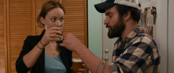 : Are Olivia Wilde and Jake Johnson More Than Just 'Drinking Buddies ...