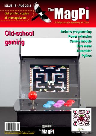 MagPi magazine issue 15, Aug 2013