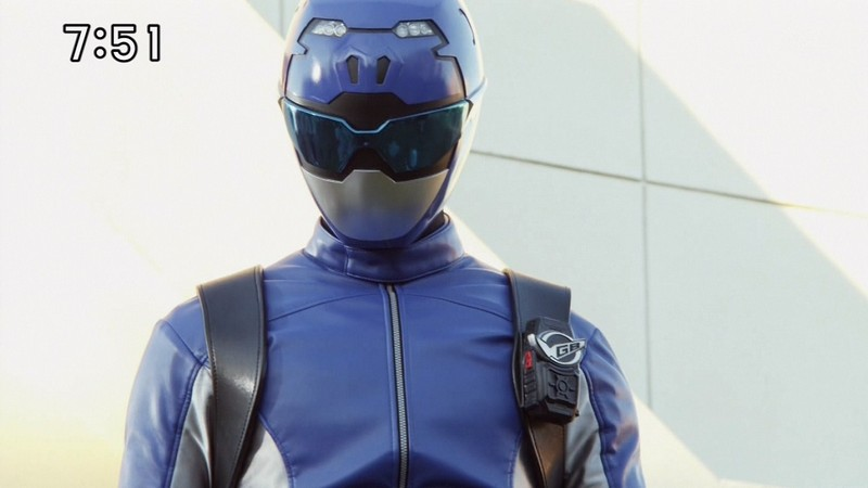 Super Sentai Images: Ranger Profile: Go-Busters Blue Buster