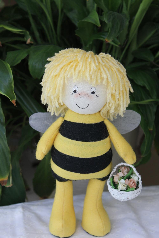 Мягкая игрушка пчёлка своими руками 35