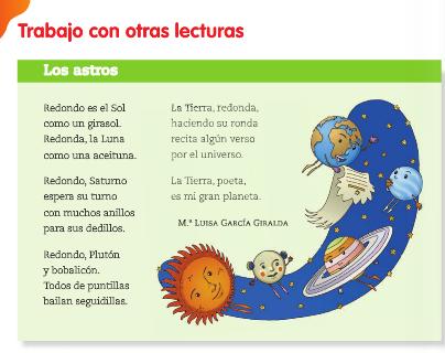 Poemas para cuarto de primaria - Imagui