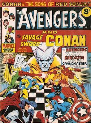 Marvel UK, Avengers #105, the Grandmaster