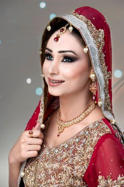Latest Bridal Jewelry Designs 2013 New Bridal Makeup In India