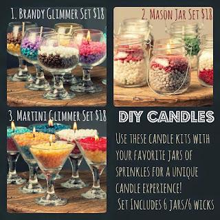 Pink Zebra Glimmer Candles DIY image