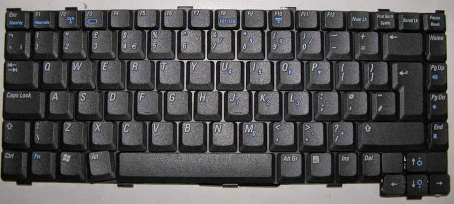 keyboard lokasi paling rentan terhadap air