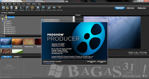 proshow producer 5.0 build 3222 full crack