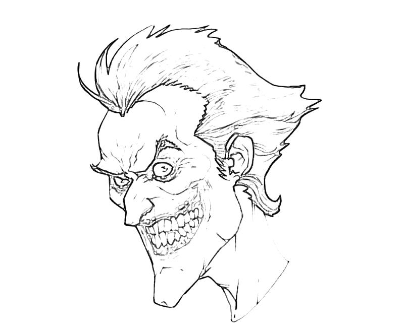 Batman Arkham City The Joker Face