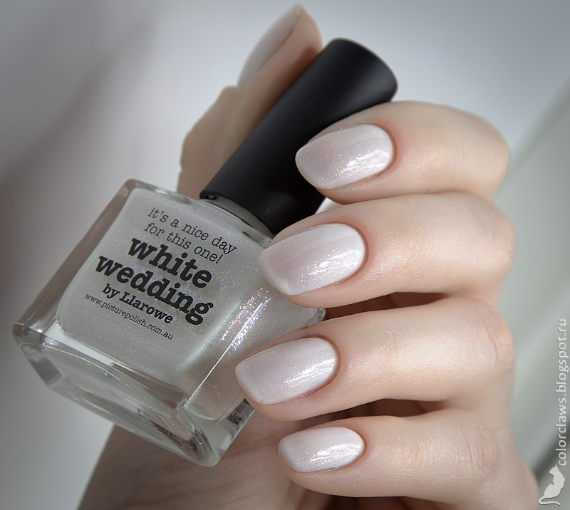 Orly Sheer White Tips + Picture Polish White Wedding