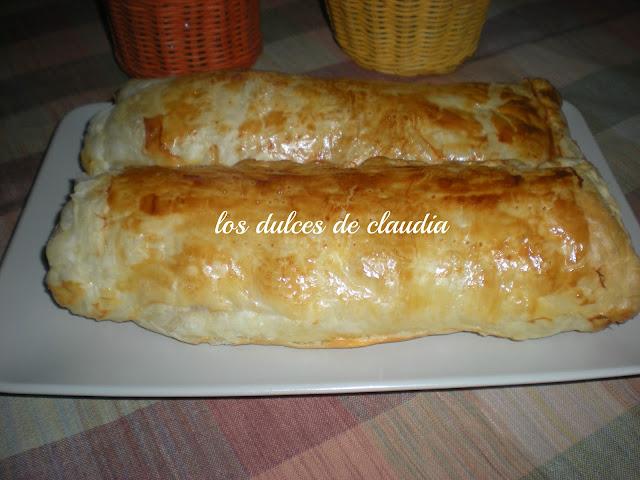 empanada de queso y jamon