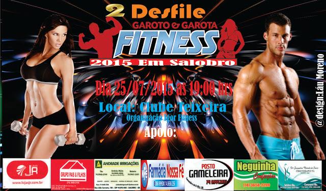 Garoto e Garota Fitness de 2015 em salobro -Bahia