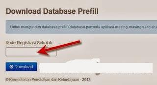 Kode Registrasi Dapodik 2013