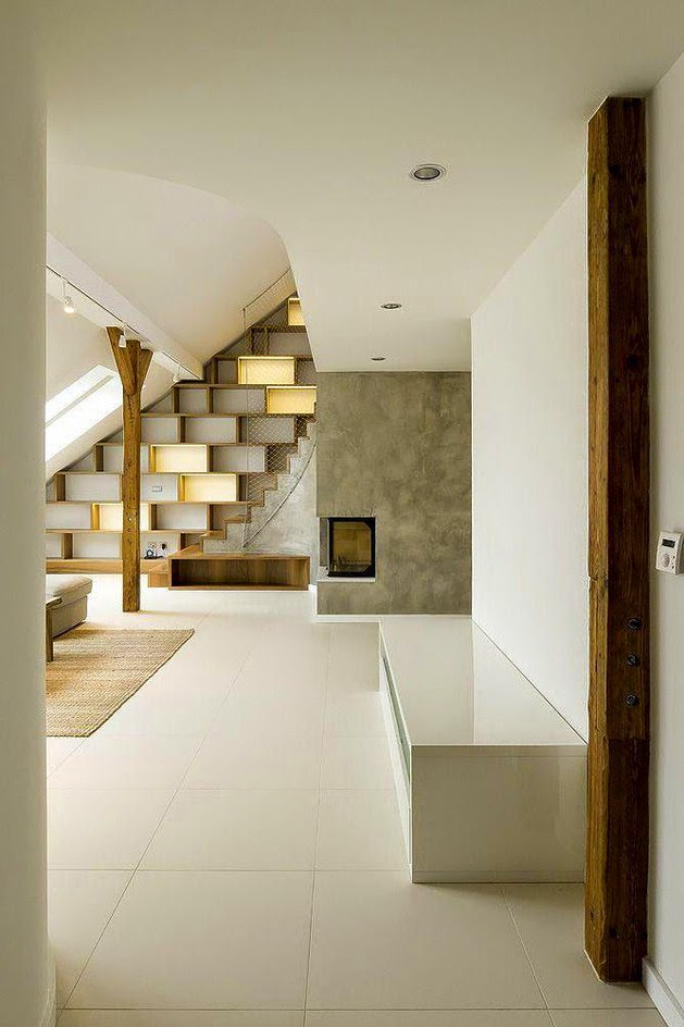 Kombinasi Desain Internal Tradisional dan Modern