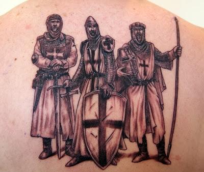 Crusade Knights Tattoos