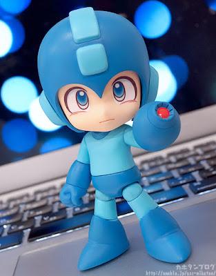 Anteprima di Mega Man in versione Nendoroid della Good Smile Company