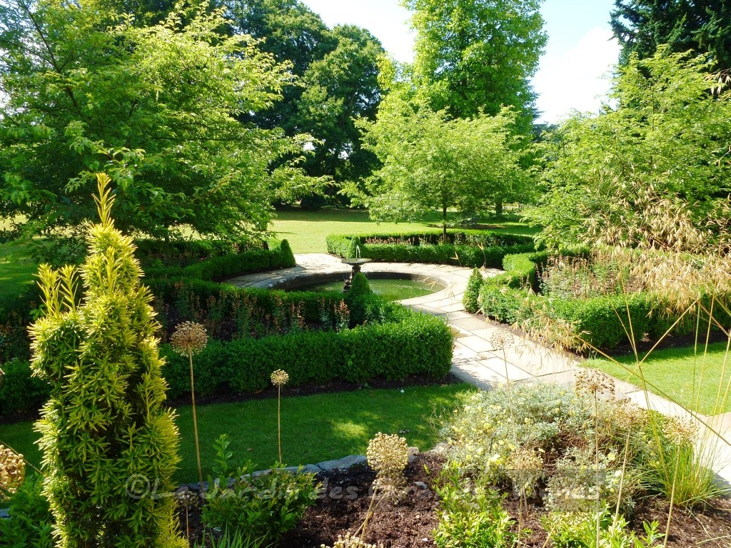 Balades dans de beaux jardins bodnant garden - Jardin a l italienne ...