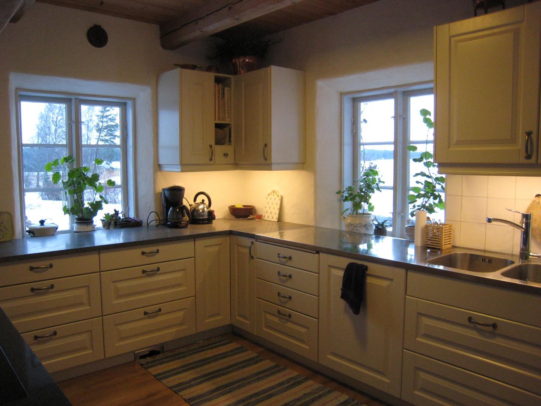 Mariehem i skåne: tillbygge i köket