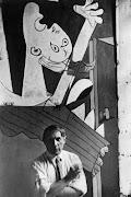 Pablo Picasso's Guernica. ron english guernica go rou