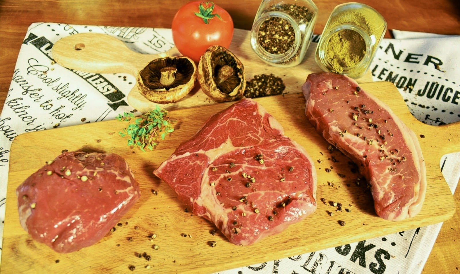 Organic Grass-fed Beef (Australia)
