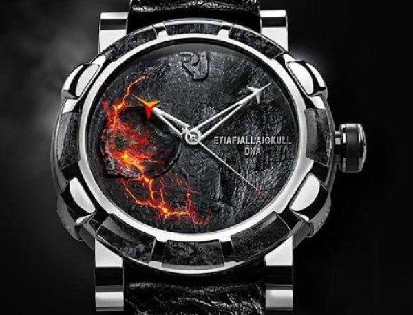 Relógio que pega fogo