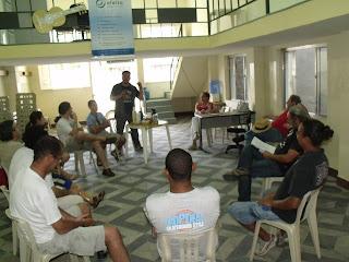 Primeira reunião do Fórum Permanente de Cultura de Salto/SP em 2011 - foto: Carolina Padreca