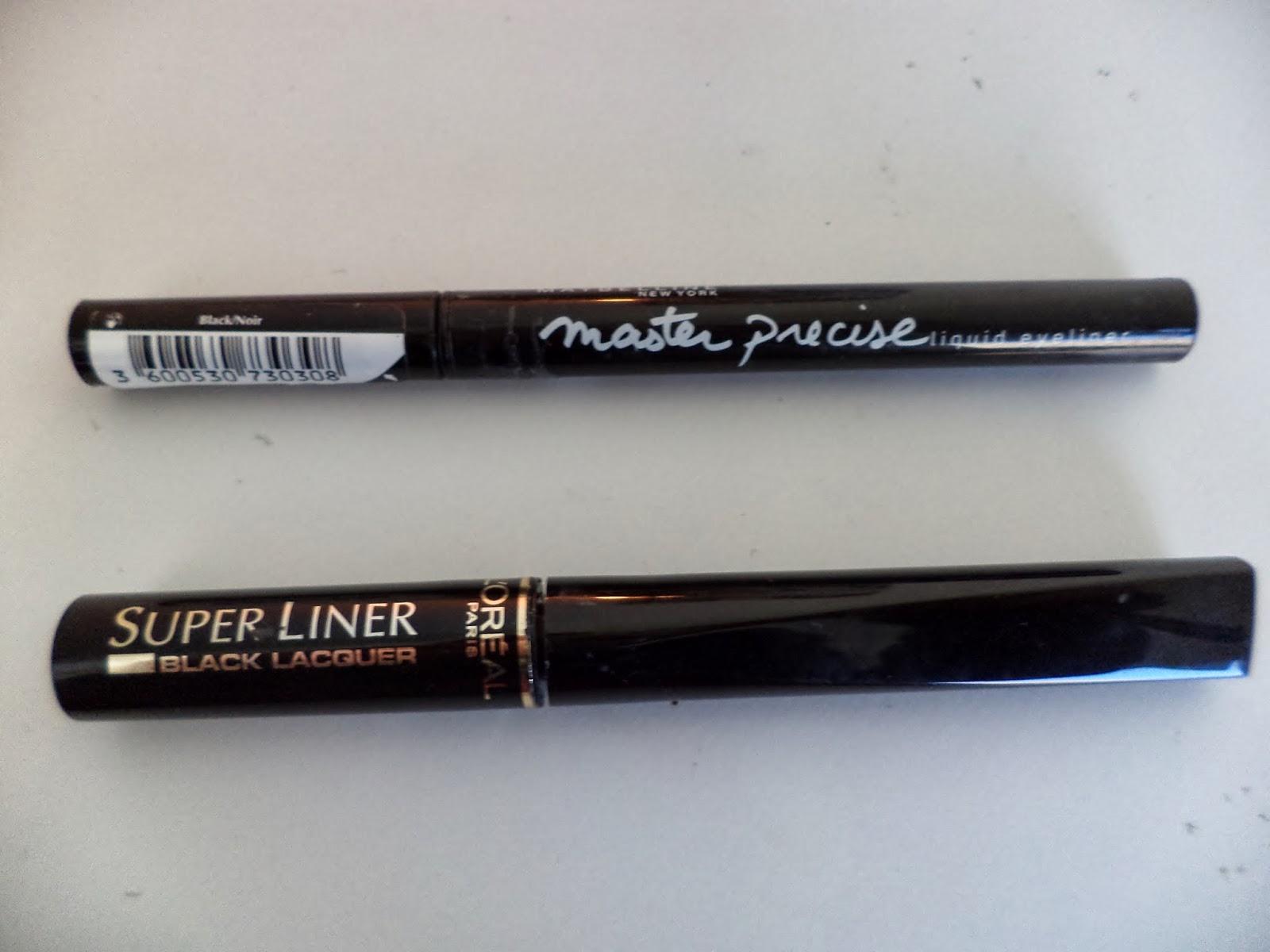 l'oreal superliner maybelline master precise liner