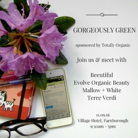 Gorgeously Green Gathering 2016