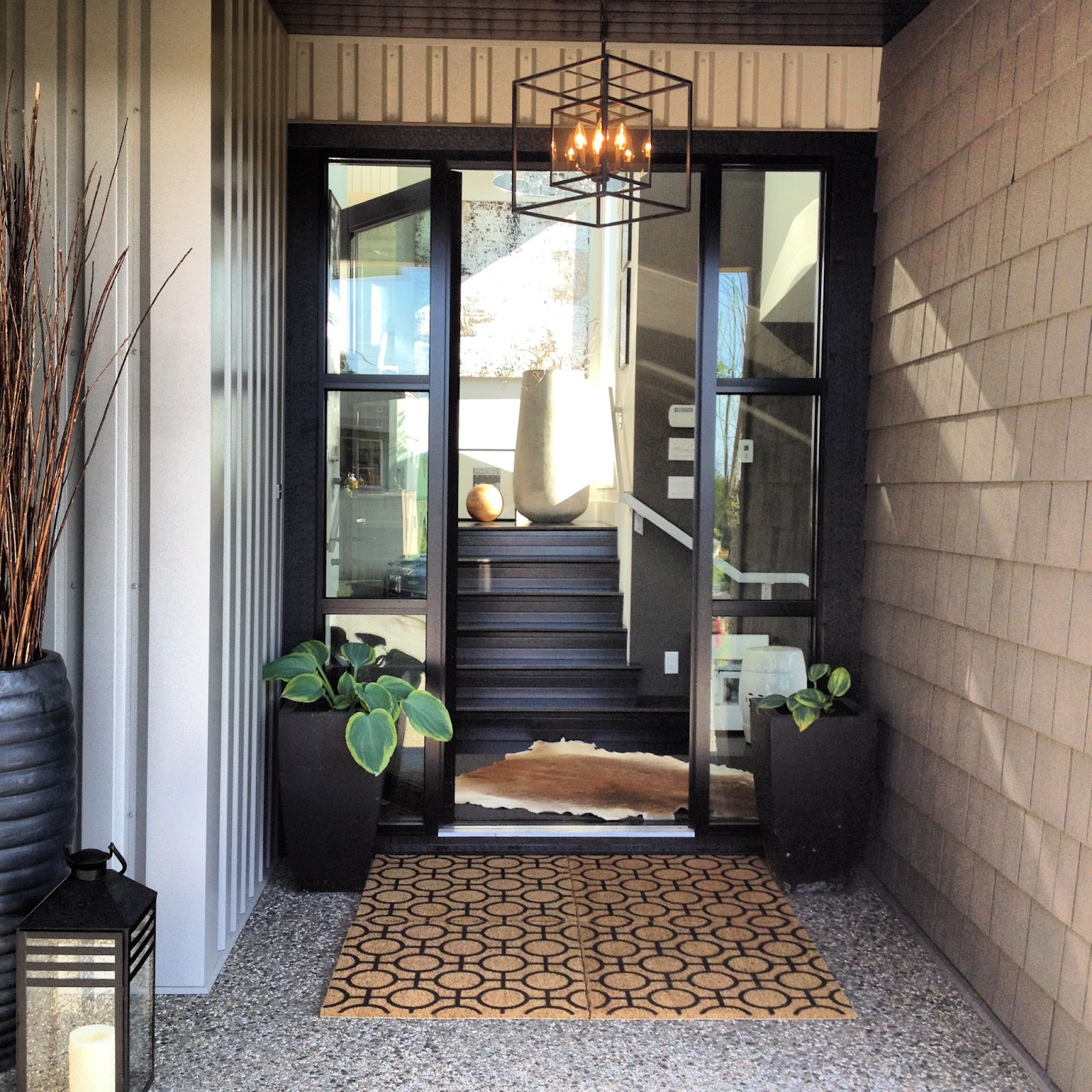 A Grand Front Entrance Dawna Jones Design
