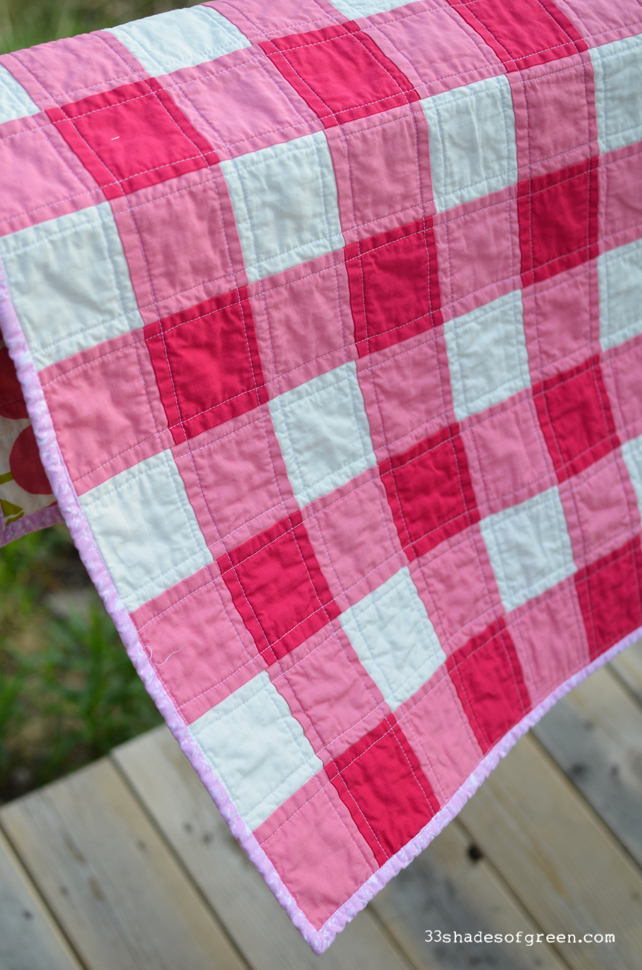 quilt video gingham up block sewn tutorial