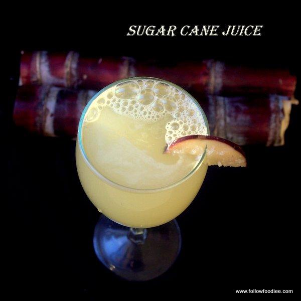 Sugar cane juice recipe , Karumbu juice recipe