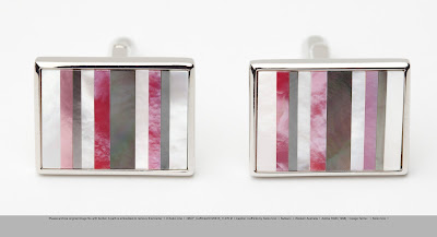 Fashion for a Cause – Keiko Uno – Breast Cancer Cuff links