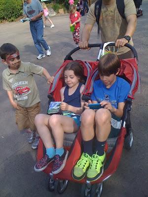 Magic Strollers An Orlando Stroller Rental Mommy Travels