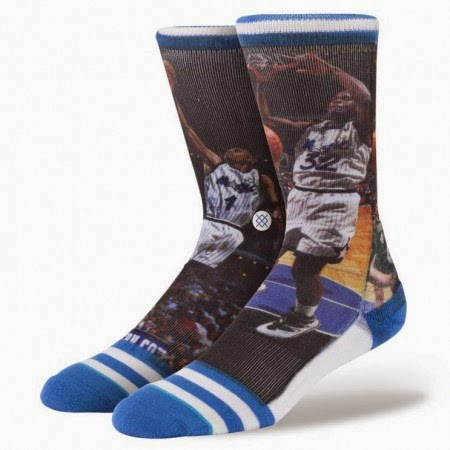 Shaq/Penny Socks
