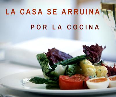 la casa se arruina por la cocina polaco, blog o tłumaczeniach, dom sie rujnuje przez kuchnię, marnowanie jedzenia, przysłowia hiszpańskie, kupowanie za drogich rzeczy, marnowanie żywności,