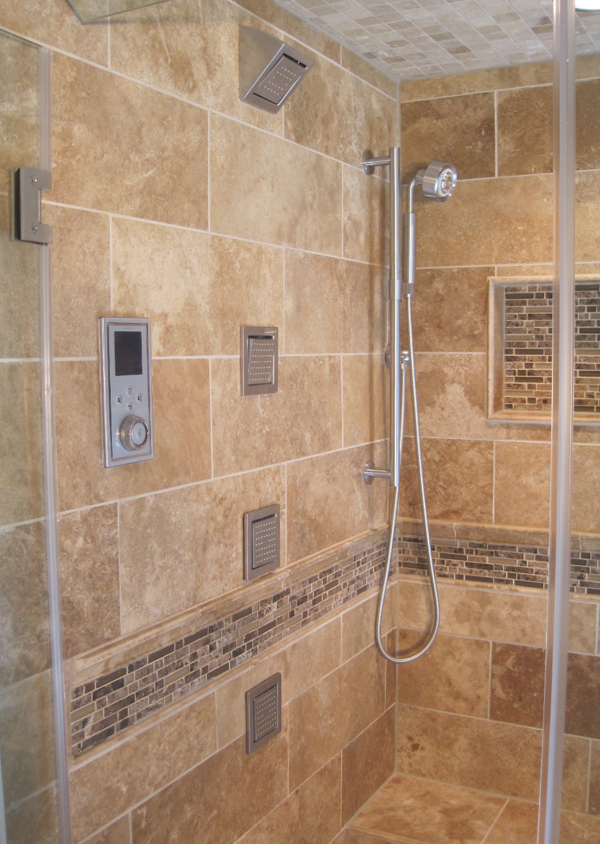The tile shop design by kirsty 7 22 12 7 29 12 - Tile shower surround ideas ...