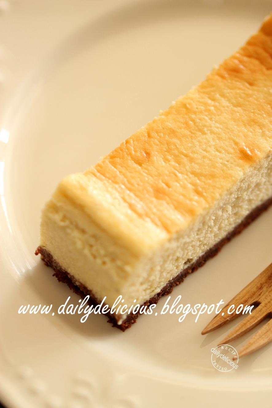 Double Cheese Cake Anglais Pour  Personnes