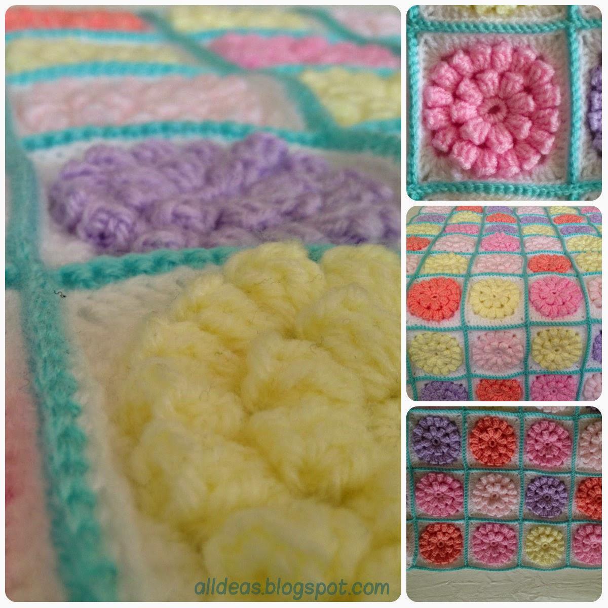 Homedeas: Crochet Baby Blanket