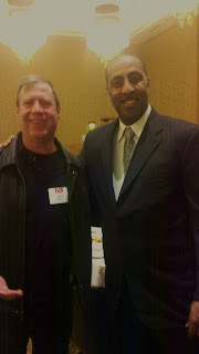 Chris Leyerle & Coach Lorenzo Romar at the 2011 YES Invest in Youth breakfast