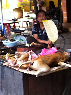 Dog Braten in Vietnam