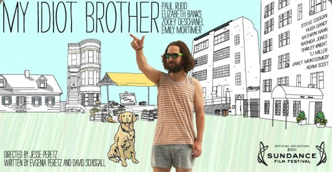 My Idiot Brother Poster