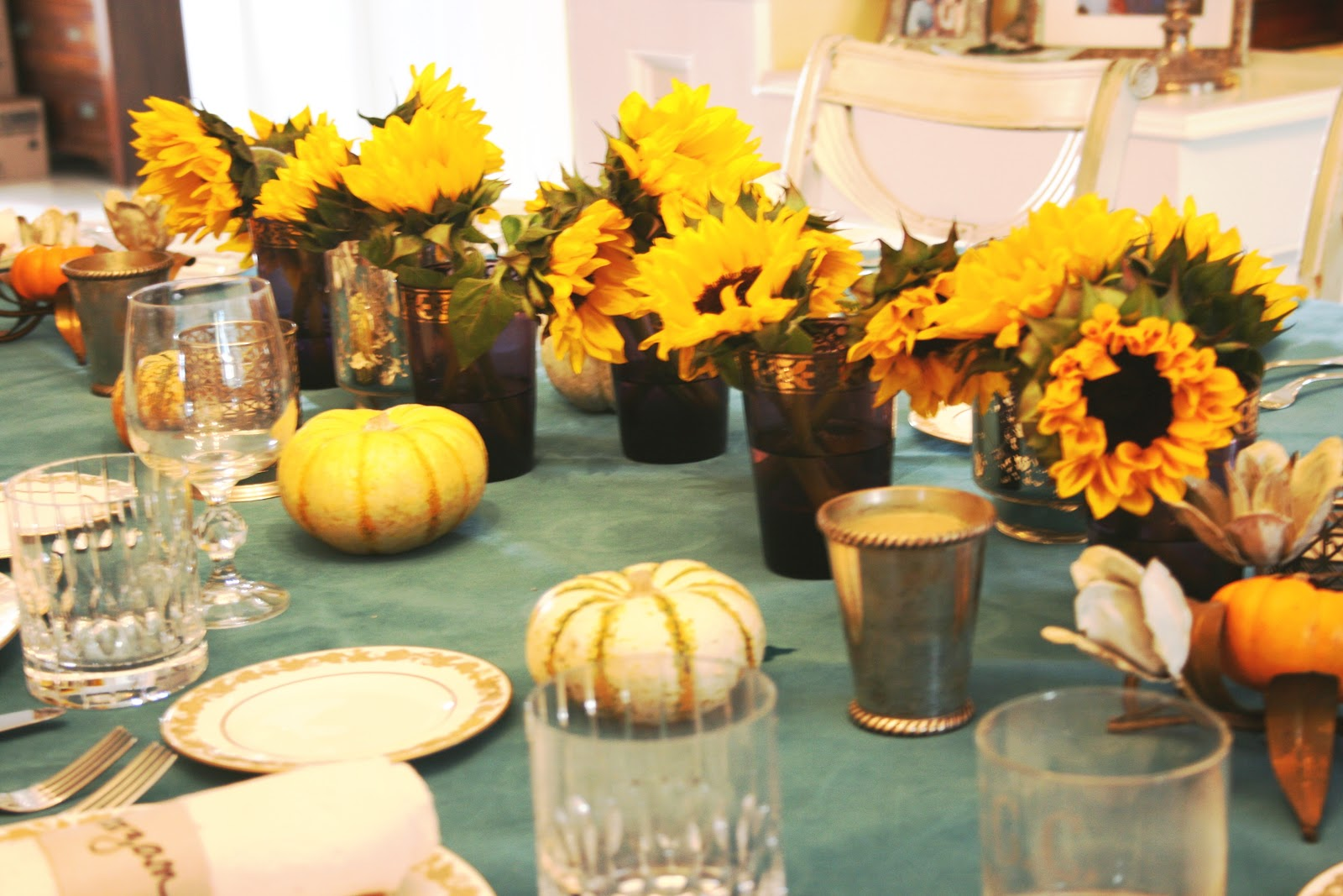 ciao! newport beach: my thanksgiving table - revisited