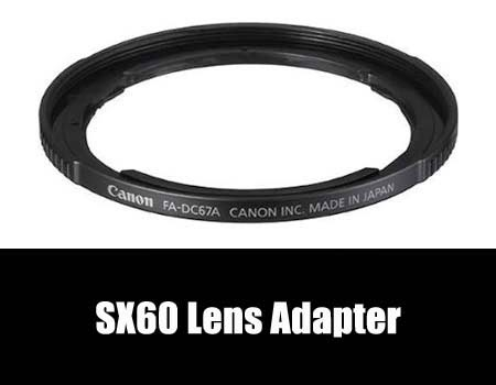 Canon SX60 Filter Adapter