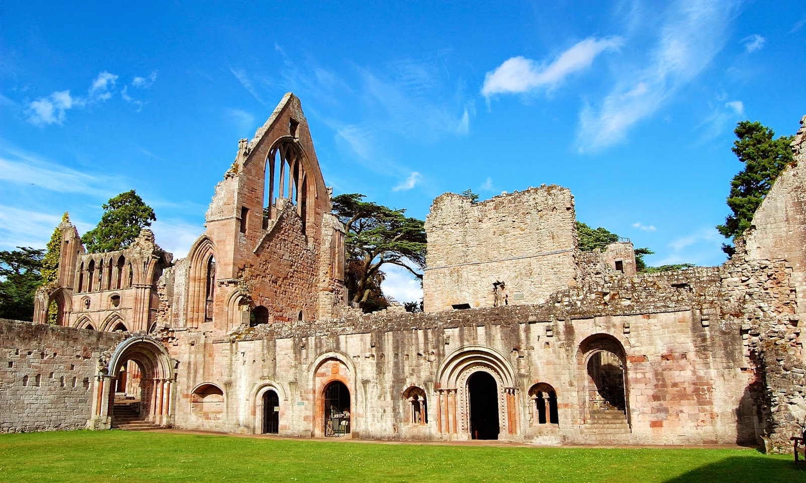 Cloister of Dryburgh Abbey