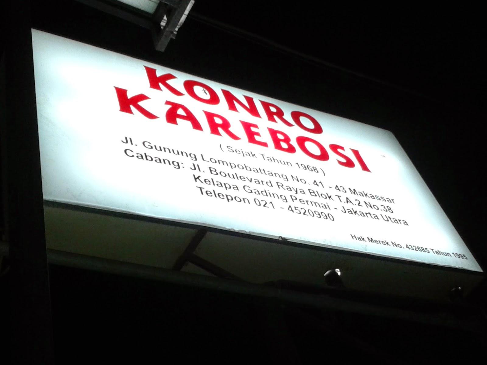 Konro Karebosi