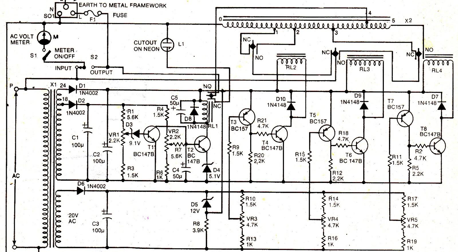 Voltage Stabilizer For Air Conditioner V Guard | grihon.com AC ... on distributor wiring, tachometer wiring, switch wiring, fuel pump wiring, air conditioner wiring, contactor wiring, gauge wiring,