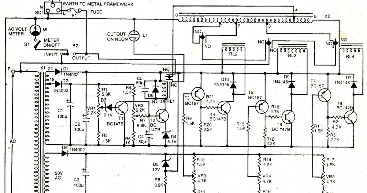 Electronics Projects  Ac Mains Voltage Stabilizer Circuit
