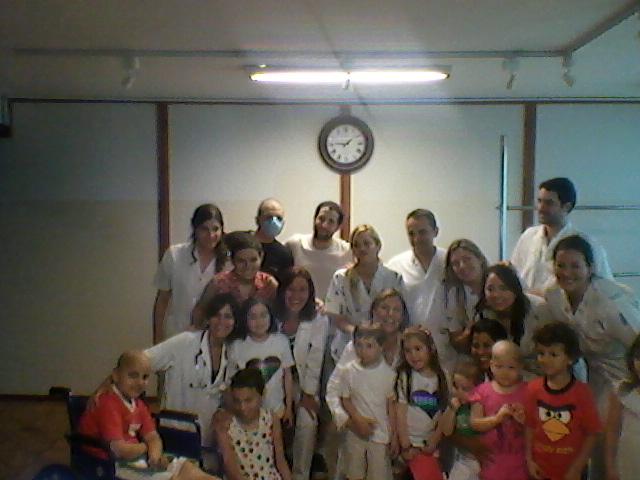 Bautista Schamis Mi Heroe Fotos Del Hospital Aleman